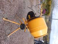Electric Cement Mixer - 240V - £175