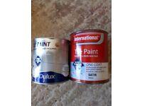 2 Tins Tile Paint