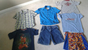 Boys clothing lot size 7