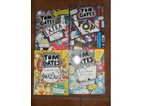 4 Tom Gates Books. Excellent condition.