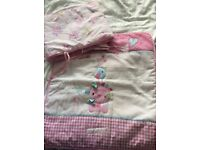 Clair de lune girl crib bedding