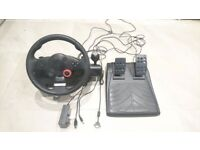 Driving Force GT Steering Wheel for PC, PS2 and PS3