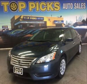 2013 Nissan Sentra POWER GROUP, 4 CYLINDER, LOW MILEAGE!