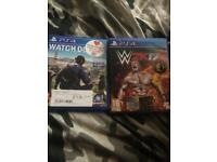 Watch dogs 2 and WWE 2k16