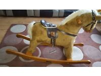 Mammas and Pappas solid rocking horse