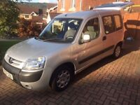 2007 Peugeot Partner combi, 1.4 petrol, disabled wheelchair access vehicle with winch
