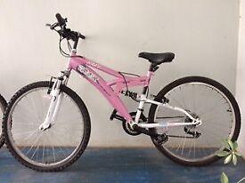 Trax Ladies Mountain Bike - Pink