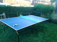 9ft Tournament Size Table Tennis/ Ping Pong Table