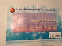 Christmas decorations rope train