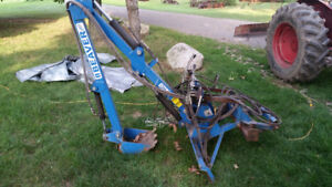 Back Hoe for 3 point hitch compact tractor