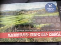 Golf vouchers Mac dunes
