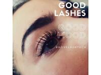 The Best Lash Extensions Hove £45 ♥️