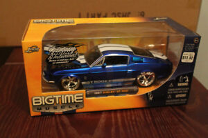 Four 1967 Mustang Shelby GT350 Dub City Diecast 1:24 scale