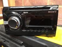 Sony double din Bluetooth head unit