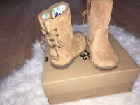 Children ugg boots.