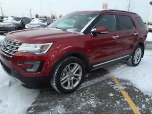 2017 Ford Explorer Limited, 4WD, 301a pkg, Moonroof, Adaptive Cr