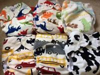 Reusable nappies-excellent condition