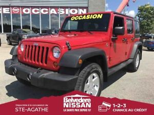 2011 Jeep WRANGLER UNLIMITED SPORT  AIR CLIMATISE VITRES ELECTRI