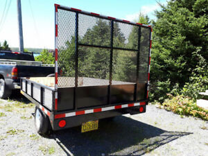 Utility/ATV Trailer  6' x 8.5'  Use-able Deck Space