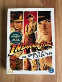 """DVDs of the Indiana Jones """"Adventure"""" Collection"""