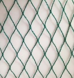2m x 6m Bird Netting Green Woven Garden: Fruit Cages, Ponds x 2 separate lengths