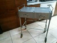 Stainless steel surgery trolly