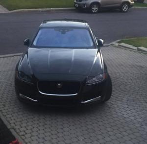 black Jaguar XF 4x4 diesel