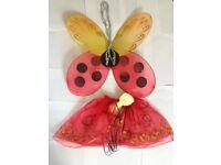 4- 6 years old ladybug costume