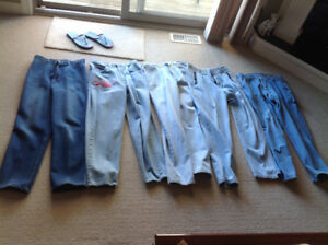 5 pairs of Blue Jeans