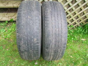 2-265/70R17 M+S GOODYEAR WRANGLER ST ALL SEASON TIRES