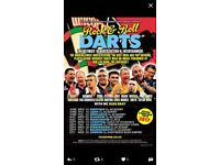 Rock n roll darts 2 tickets