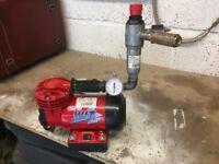 Clarke Wiz Mini AIr Compressor & Pressure Regulator & Filter