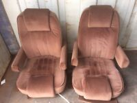 American Style Custom made seats for Fiat Ducato Motorhome, Talbot, etc.