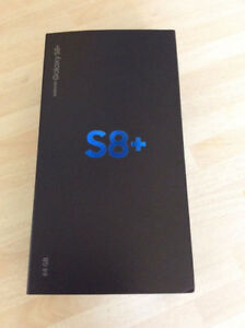 Samsung galaxy S8+ Brand new Factory Unlocked  with 1 year samsu