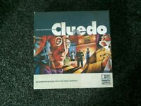 Boxed cluedo game