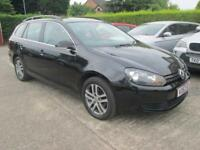 2012 62 Vw Golf Estate 1.6 TDi 105 Se Bluemotion Black