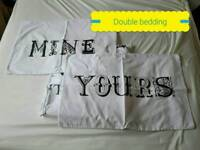 Boule bedding with 2 pillow cases