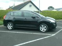 2012 Peugeot 3008 1.6Hdi, With Sat Nav..