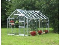 Elite 10x8ft Safety/Toughened Glass Greenhouse
