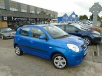 2009 (59) KIA PICANTO 1.1 STRIKE Blue 5 Doors Low Mileage 1 Owner FSH