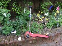 Micro Scooter in pink