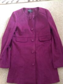 Limited collection size 8 coat
