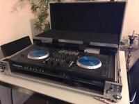 Numark NS6 DJ Controller With Magma flight case
