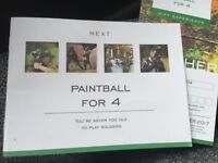 Paintball Voucher - Next - anywhere in UK