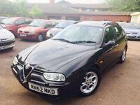 Alfa Romeo 156 estate jtd full mot mint runner nationwide delivery 895