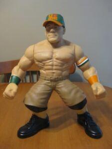 WWE WRESTLING JOHN CENA LARGE TALKING FIGURE