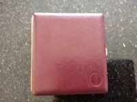Dunhill burgundy leather cigarette case