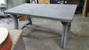 Collins Extension Table Reclaimed Wood NEW Reg $2685