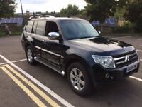 MITSUBISHI SHOGUN 2008 3.2L ELEGANCE. EXCELLENT CONDITION TOP SPEC WITH MANY EXTRAS *12 MONTHS MOT*