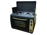 Outdoor Camping Portable Cooker Twin Hob Stove & Oven Brand New Still In Box £160 ono